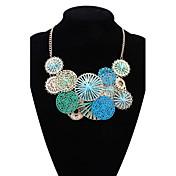 Mujer Gargantillas Collares Declaración Joyas Forma de Círculo Joyas Legierung Diseño Básico Circular Diseño Único Colgante Acrílico