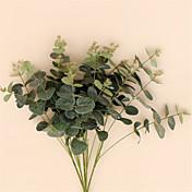 1 Pieza 1 Rama Seda Plantas Flor de Mesa Flores Artificiales