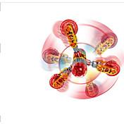 Hilandero de mano Juguetes Spinner de anillo ABS EDC Juguetes creativos