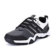 Hombre Zapatillas de Atletismo Confort Suelas con luz PU Primavera Otoño Deportivo Running Confort Suelas con luz Con Cordón Tacón Plano