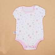 赤ちゃん 子供用 赤ちゃん 綿 ベビーシャワー 水玉柄 ジオメトリック プリント ワンピース,水玉 ストライプ オールシーズン