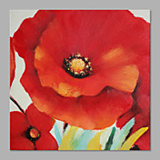 Pintados à mão Floral/Botânico Horizontal,Artistíco 1 Painel Tela Pintura a Óleo For Decoração para casa
