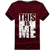 Masculino Camiseta Para Noite Activo Sólido Listrado Geométrica Algodão Linho Poliéster Colarinho de Camisa Meia Manga