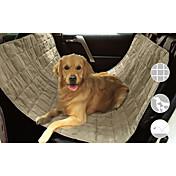 犬 シートカバー ペット用 マット/パッド 防水 携帯用 折り畳み式 ブラック ベージュ グレー