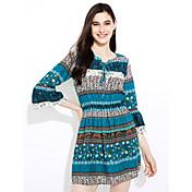 juego de vestido de la manga del cuerno atar v-cuello de la manera europea y americana de eBay a aliexpress