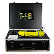 水の下水道排水管壁の検査、内視鏡カメラパイプの下50メートルのヘビケーブル&DVRと壁検査システム