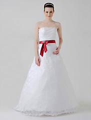 satén svatební / svatební Velkostuha (0251 - 24086)