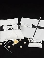 crno-bijeli vjenčanja kolekcija s leptir-čvor (3 komada)