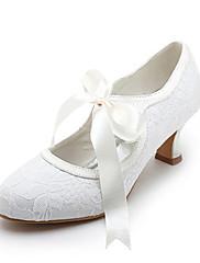 Dámské - Svatební obuv - Podpatky / Mary Jane - Lodičky - Svatba - Bílá