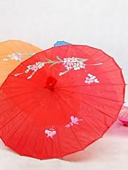 レッド♥シルク日傘