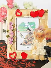 Nevěsta a ženich medvěd fotorámeček