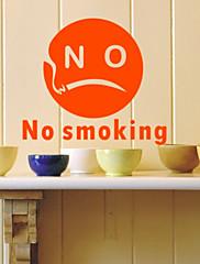 Zabranjeno pušenje-2 zidne naljepnice (1985-P39)