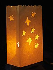 svatební výzdoba javor tvaru cut-out papír svítidlo