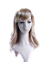 capless dlouhá vysoce kvalitní syntetické móda vlasy paruka