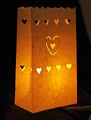 Svatební dekorace-4ks / Set Jaro Léto Podzim Zima Nepersonalizováno Čajové svíčky nejsou součástí balení