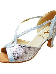 přizpůsobit výkon taneční boty koženka horní latinské boty pro ženy