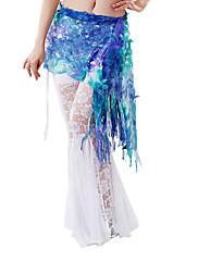 dancewear polyester výkon belly dance hip šátek pro dámy více barev