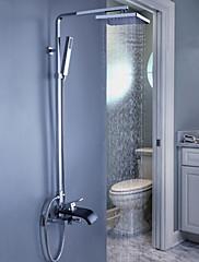 moderní vana sprchová baterie s 8 palcovým sprchou + ruční sprcha