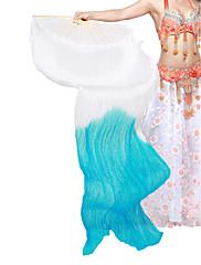 nádherný hedvábí břišní tanec ventilátor pro pravici pro dámy