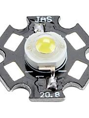 epistar 6000-6500K 3W 170-190lm 700mah bijeli LED žarulja s aluminijske ploče (3.4-3.8V)