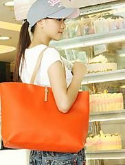 sladká barva kontrastní taška přes rameno (36 cm * 12 cm * 30 cm)