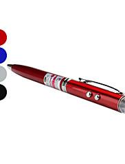 3-u-1 olovke s 2-mode bijelo svjetlo i 5mW crveni laser (3xlr41, crnom tintom)