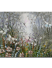 手塗りの油絵動物1211-AN0050