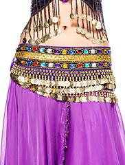 dancewear samet s korálkování taneční vystoupení břišní pás pro dámy více barev