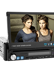 7 palcový 1DIN auto DVD přehrávač s GPS bluetooth tv ipod