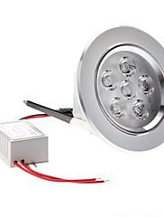 6w 600-660lm 6000-6500K přirozené bílé světlo vedlo strop žárovka (85-265V)