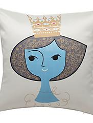 Elegantní princezna print dekorativní polštář