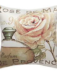 zemí růže tisknout dekorativní polštář