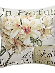pastorační lily print dekorativní polštář