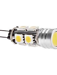 4W G4 LEDコーン型電球 T 9 SMD 5050 270 lm 温白色 DC 12 V