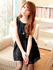 bljy vintage černé krajkové šaty princezny záhybů