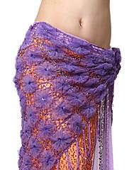 výkon dancewear tylem s střapci pásem břišního tance pro ženy více barev