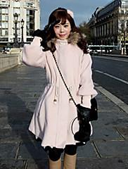 stahovací dámské pas tweed kapucí kabát