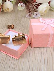 ženich družba Dárky Piece / Set Manžetové konflíčky a kravatové spony kouzlo Klasické Svatba Výročí Narozeniny Business Nerez Přizpůsobeno
