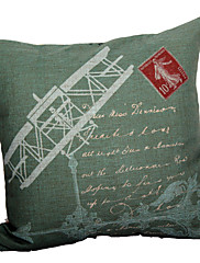retro aviona pamuka / lana dekorativne jastuk poklopac