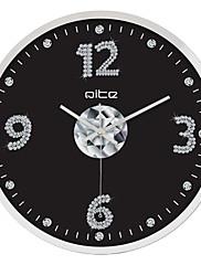 """12 """"h moderní obchodní nerezová ocel nástěnné hodiny"""
