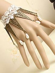 ručno bijelom čipkom klasična lolita narukvicu