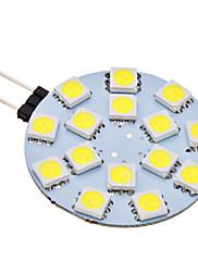 2W G4 LED Bi-pin světla 15 SMD 5050 150 lm Přirozená bílá AC 12 V