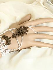 ručno bijelom čipkom princeza lolita narukvica s čvoranja