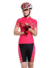 MYSENLAN COOLDRY +フレックス素材半袖速乾性の女性のサイクリングスーツ