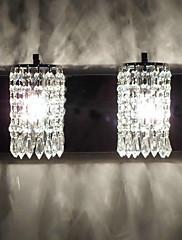クリスタル 壁掛けライト,現代風 E12/E14 メタル
