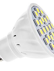 GU10 LEDスポットライト MR16 21 SMD 5050 210 lm ナチュラルホワイト AC 110-130 / 交流220から240 V