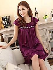 Dámské Purple Sexy Elegantní komfortní Košilky krajkové šaty a falbala Pas 100cm