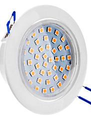 8W 500-580LM 3000-3500K teplá bílá LED stropní světlo žárovka (85-265V)