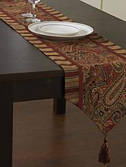Tradiční Multi-barevný tisk Classic Floral bavlna Tabulka Runner
