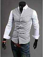 Pánská košile s dlouhými rukávy